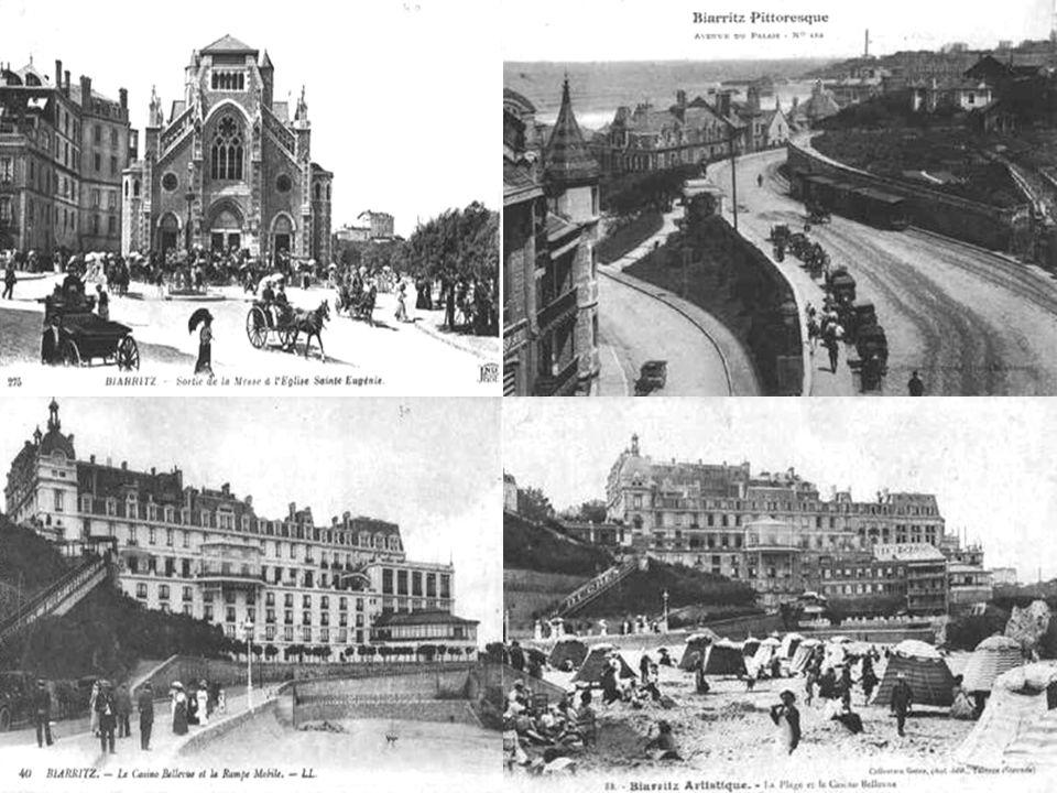 Le toponyme Biarritz apparaît sous les formes Bearidz, Bearriz, Beariz, lo port de Beiarriz et Bearridz (respectivement 1186, XIIe siècle pour les deux formes suivantes et 1261 pour les deux dernières formes.