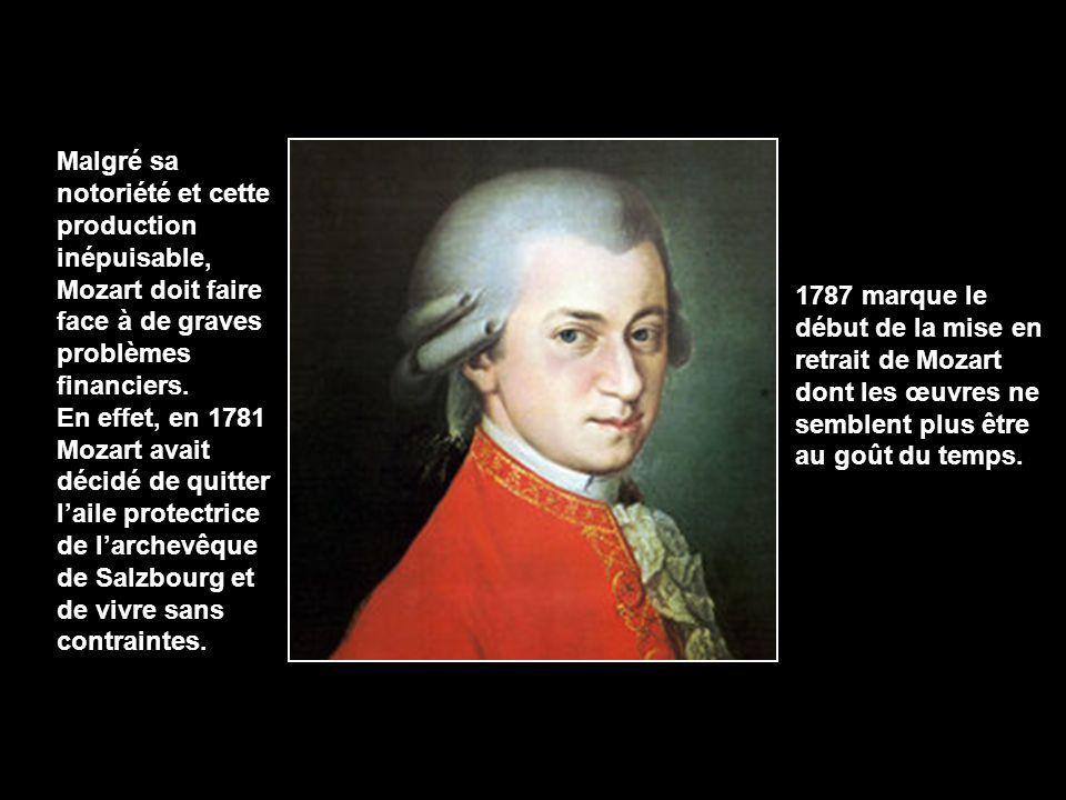 Très peu de gens savent qu'en 1784, Mozart adhère à la franc- maçonnerie. La dureté de la vie quotidienne du voyageur Mozart, aux prises avec le froid