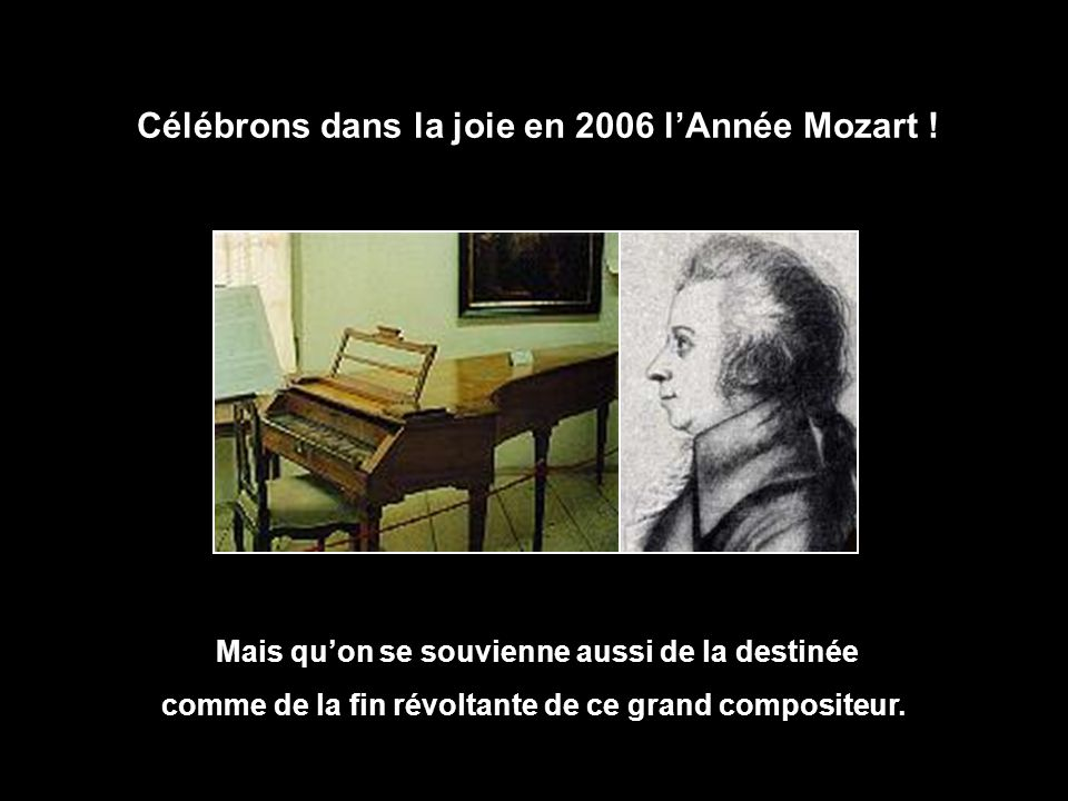 Wolfgang Amadeus Mozart est mort d'épuisement à Vienne dans la nuit du 5 au 6 décembre 1791, à l'âge de 35 ans. Complètement fauché, il a été enterré