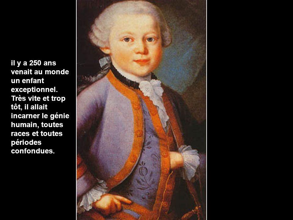 Né le 27 janvier 1756 à Salzbourg Mort le 5 décembre 1791 à Vienne. Wolfgang amadeus mozart