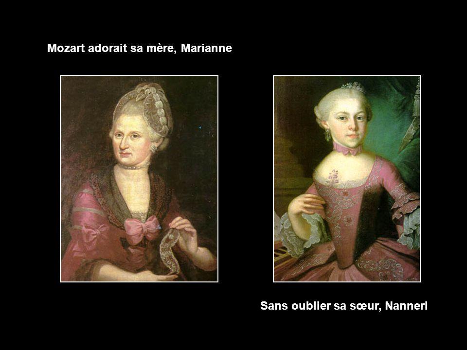 Wolfgang Amadeus Mozart, musicien compositeur, est l'Autrichien le plus illustre de tous les temps. On a calculé que ce surdoué avait voyagé un jour s