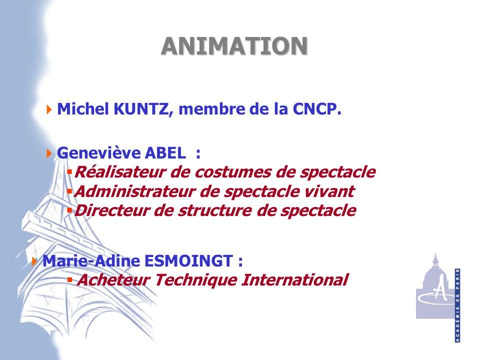  Michel KUNTZ, membre de la CNCP.