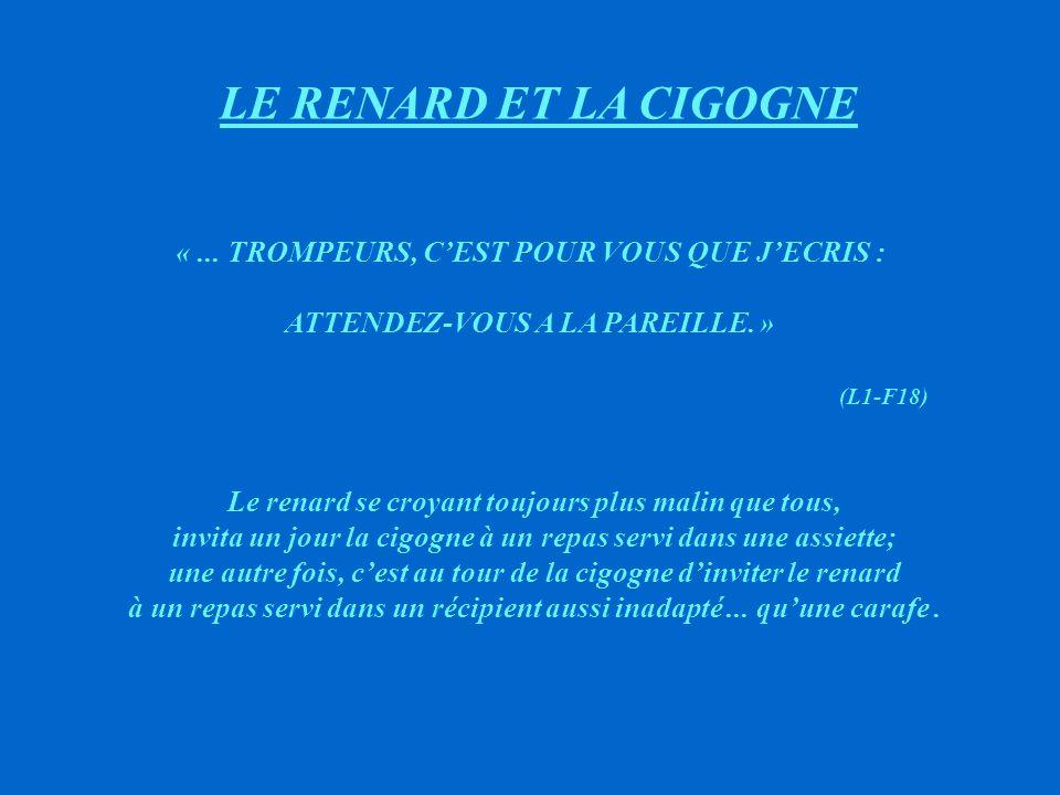 LES VOLEURS ET L'ANE «...