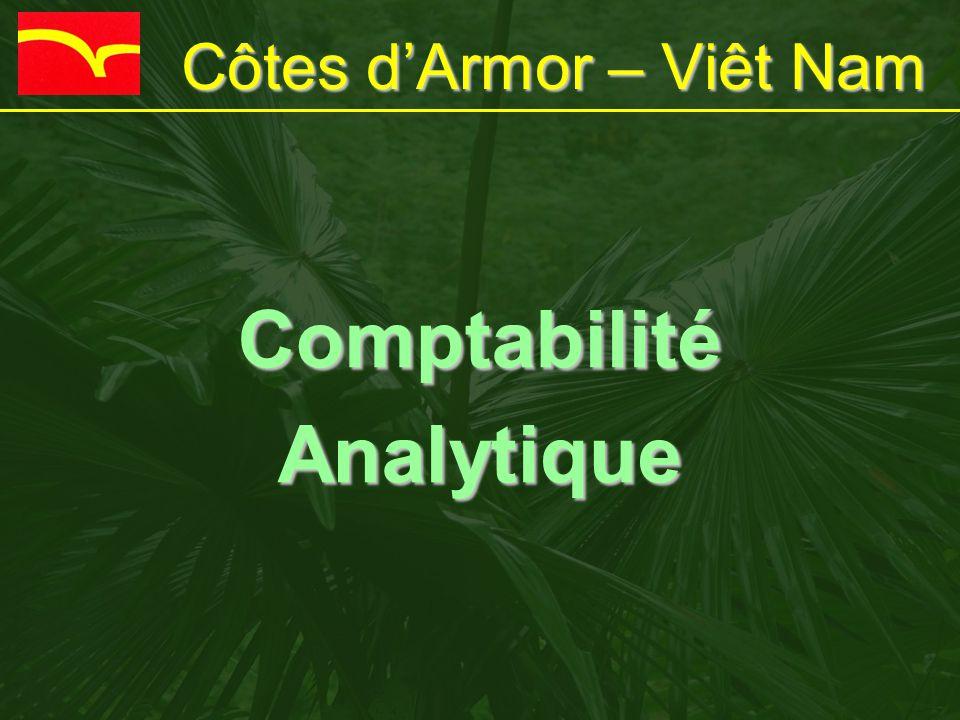Côtes d'Armor – Viêt Nam ComptabilitéAnalytique