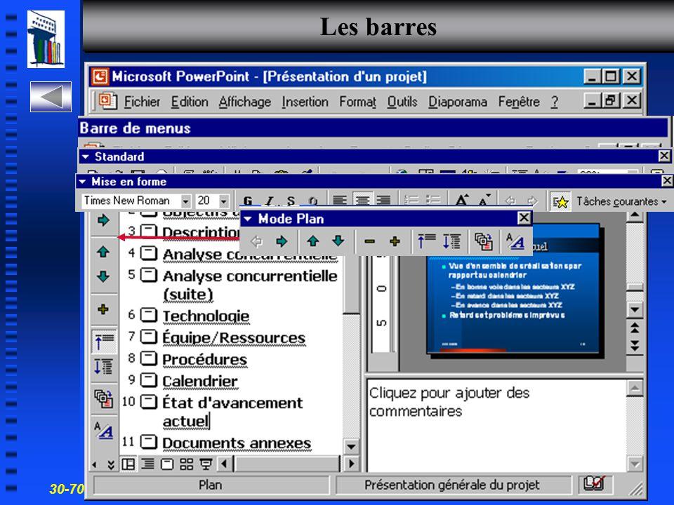 30-700-96 Introduction à l'informatique en gestion 19 Mode affichage Pages commentaires
