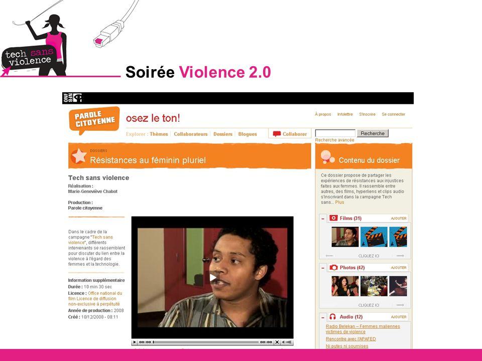 Soirée Violence 2.0