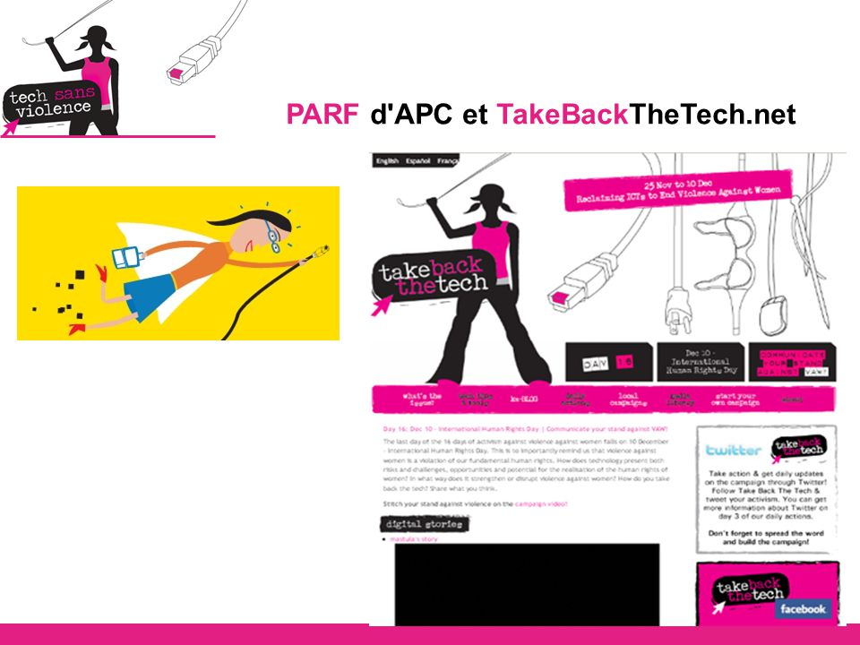 PARF d APC et TakeBackTheTech.net