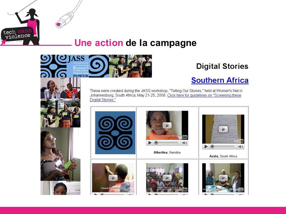 Types d actions de la campagne
