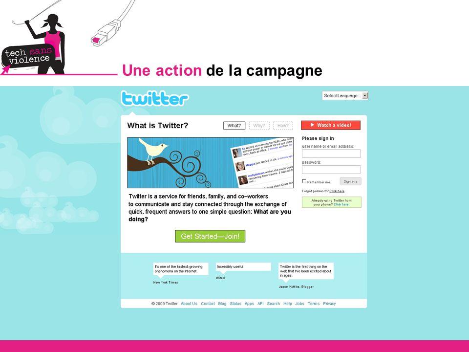 Une action de la campagne