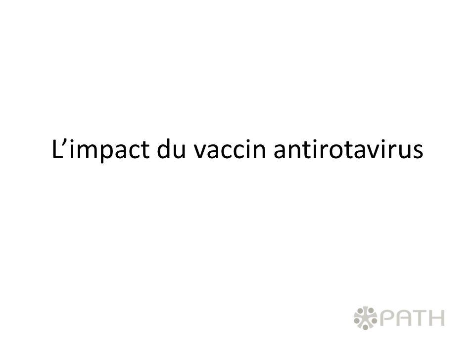 L'impact du vaccin antirotavirus