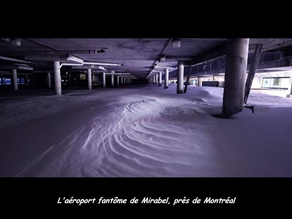 L'aéroport fantôme de Mirabel, près de Montréal
