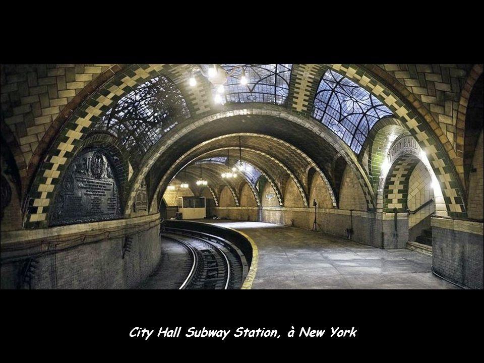 City Hall Subway Station, à New York