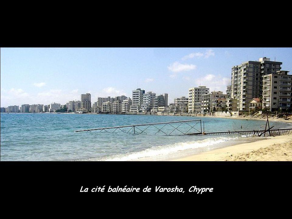 La cité balnéaire de Varosha, Chypre