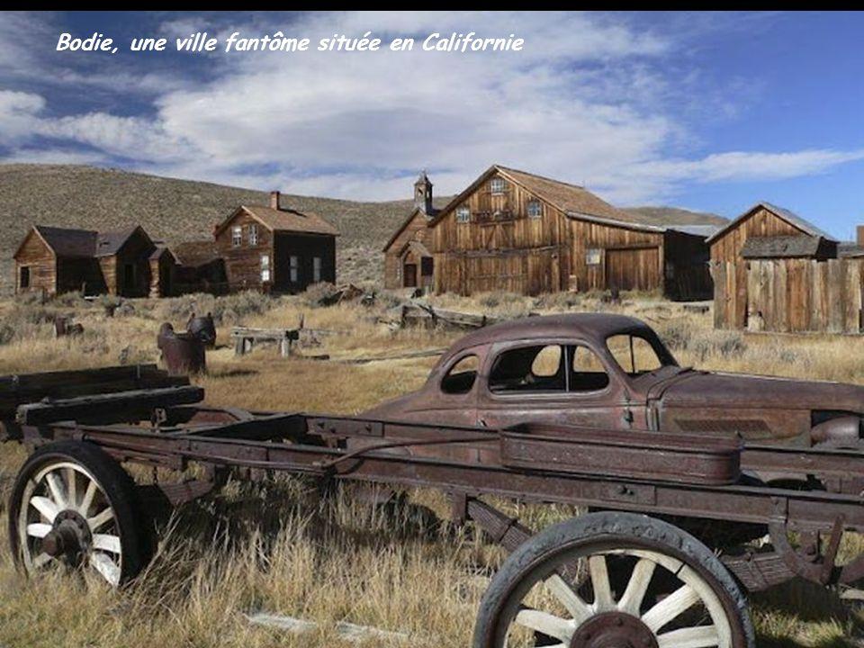 Bodie, une ville fantôme située en Californie