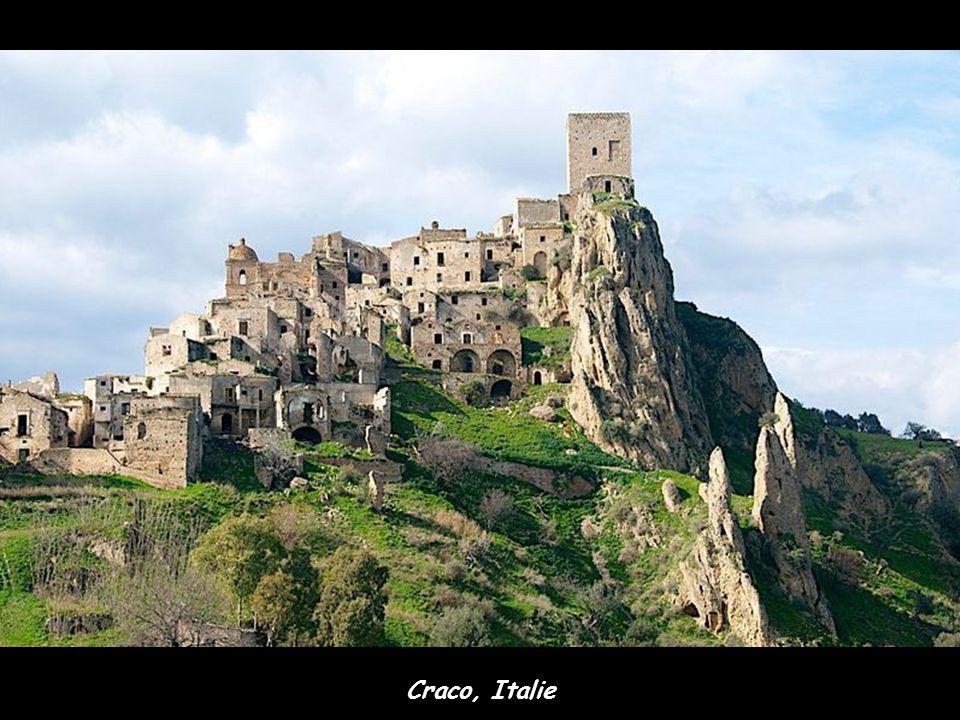 Craco, Italie