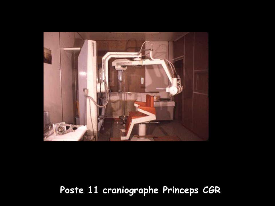 Poste 11 craniographe Princeps CGR