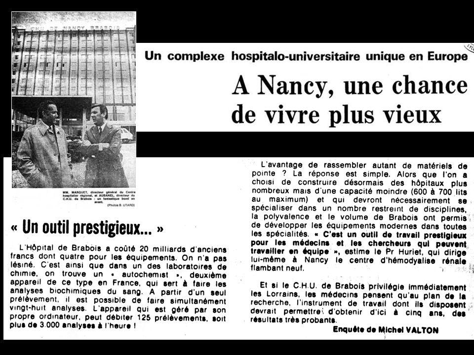 1975 1977 1977 Pr Augusta Tréheux Chef de service