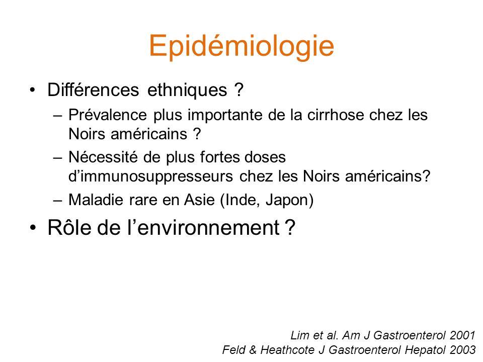 Critères diagnostiques simplifiés Hennes et al. Hepatology 2008