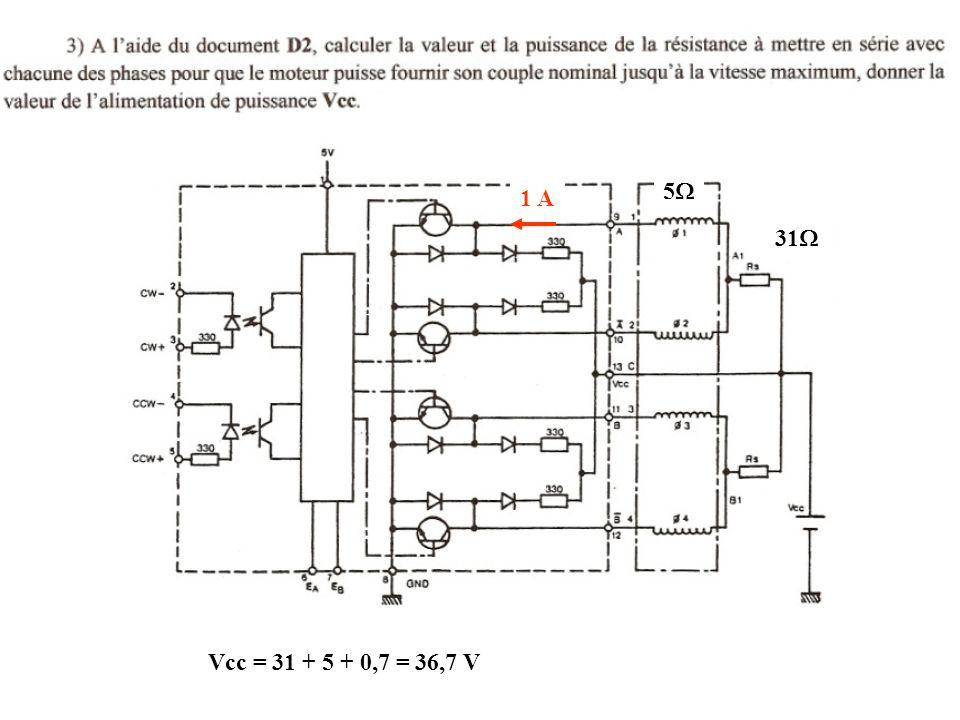 31  55 1 A Vcc = 31 + 5 + 0,7 = 36,7 V