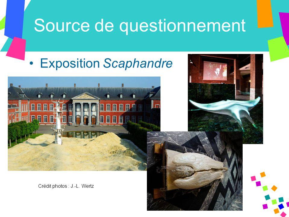 Source de questionnement Exposition Scaphandre Crédit photos : J.-L. Wertz