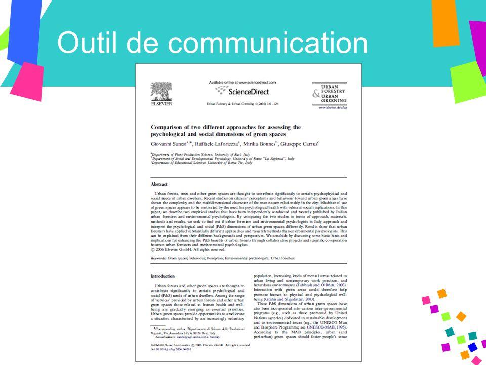 Outil de communication