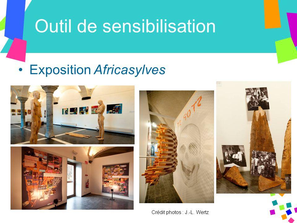 Outil de sensibilisation Exposition Africasylves Crédit photos : J.-L. Wertz