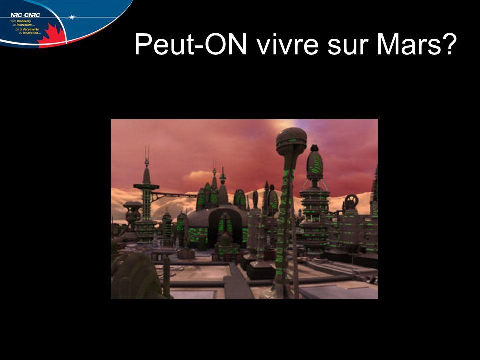 VOTRE MISSION: DE CRÉER UNE COLONIE SUR MARS