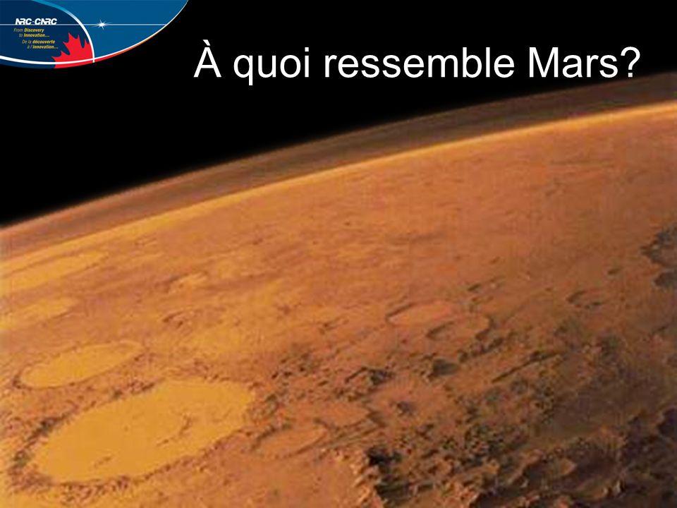 À quoi ressemble Mars