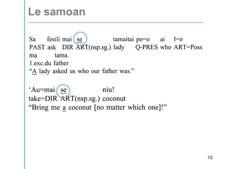 10 Le samoan