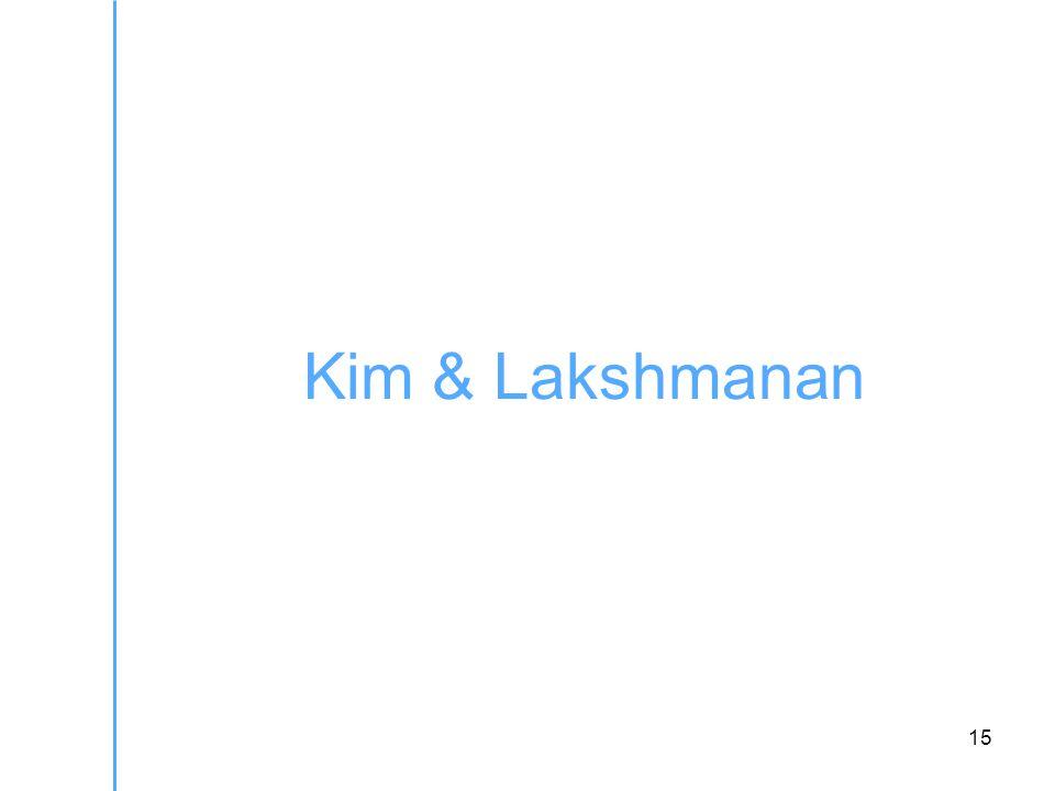 15 Kim & Lakshmanan
