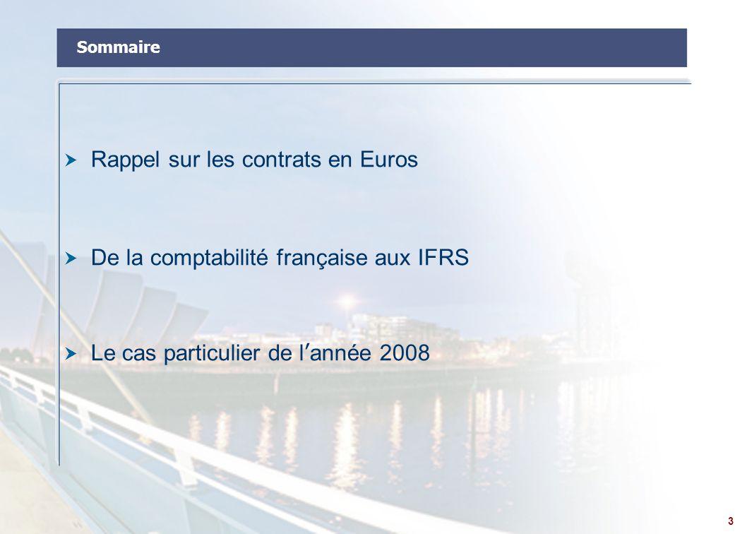 Rappel sur les contrats en Euros