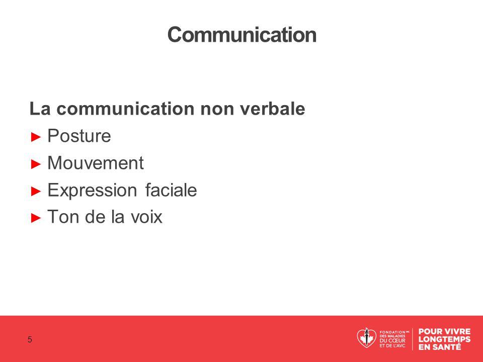 Quand les communications sont difficiles (suite) ► Faites face au problème.
