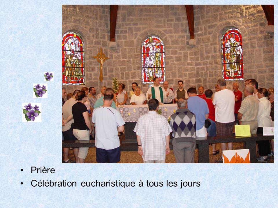 Prière Célébration eucharistique à tous les jours