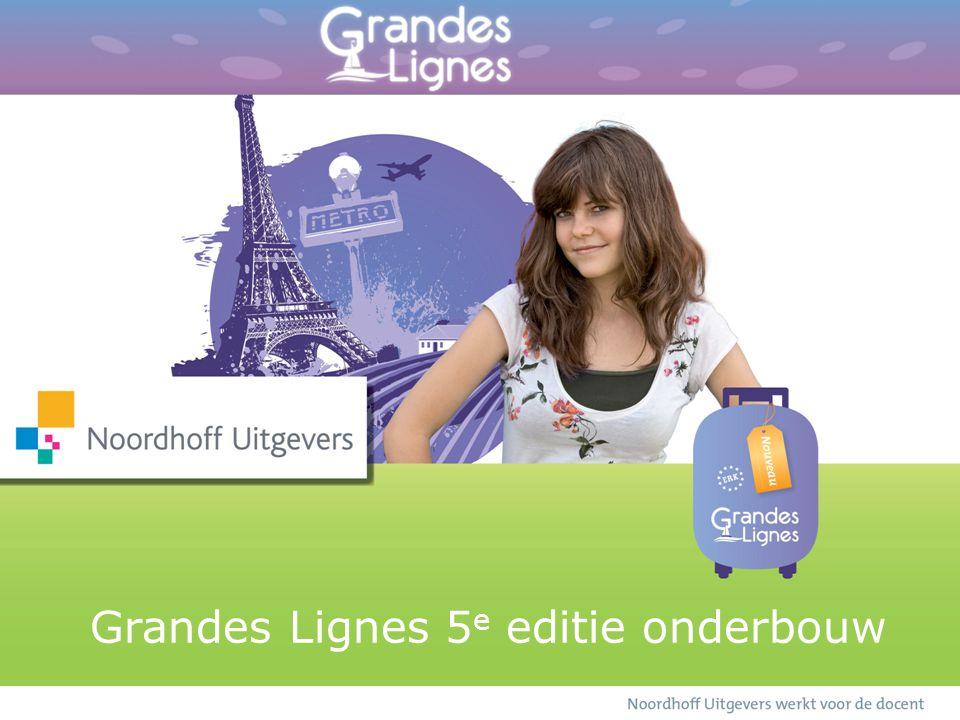 Grandes Lignes 5 e editie onderbouw