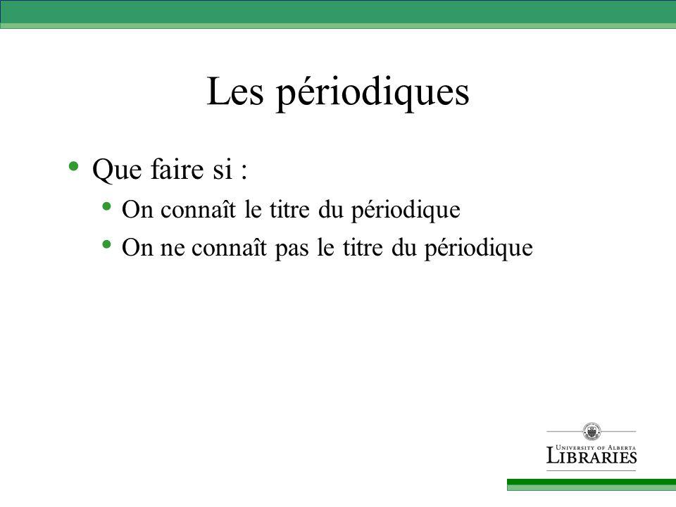 Comment lire une référence Articles de périodiques (Repère) Les origines du mot francophonie : Haïti / Michel Tétu.