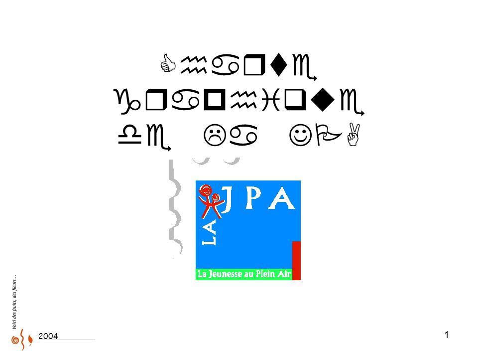 1 Charte graphique de La JPA 2004