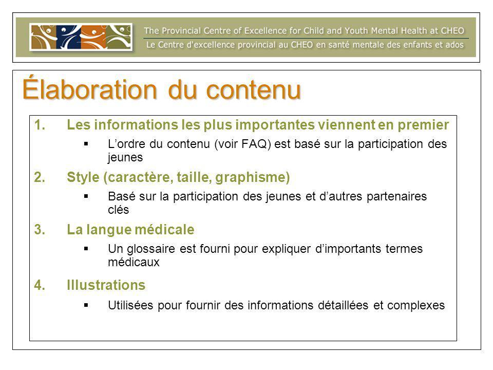 Encarts d'information Med Ed