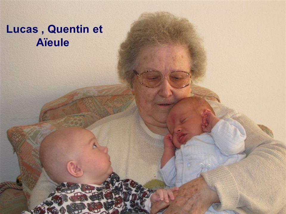 Lucas, Quentin et Aïeule