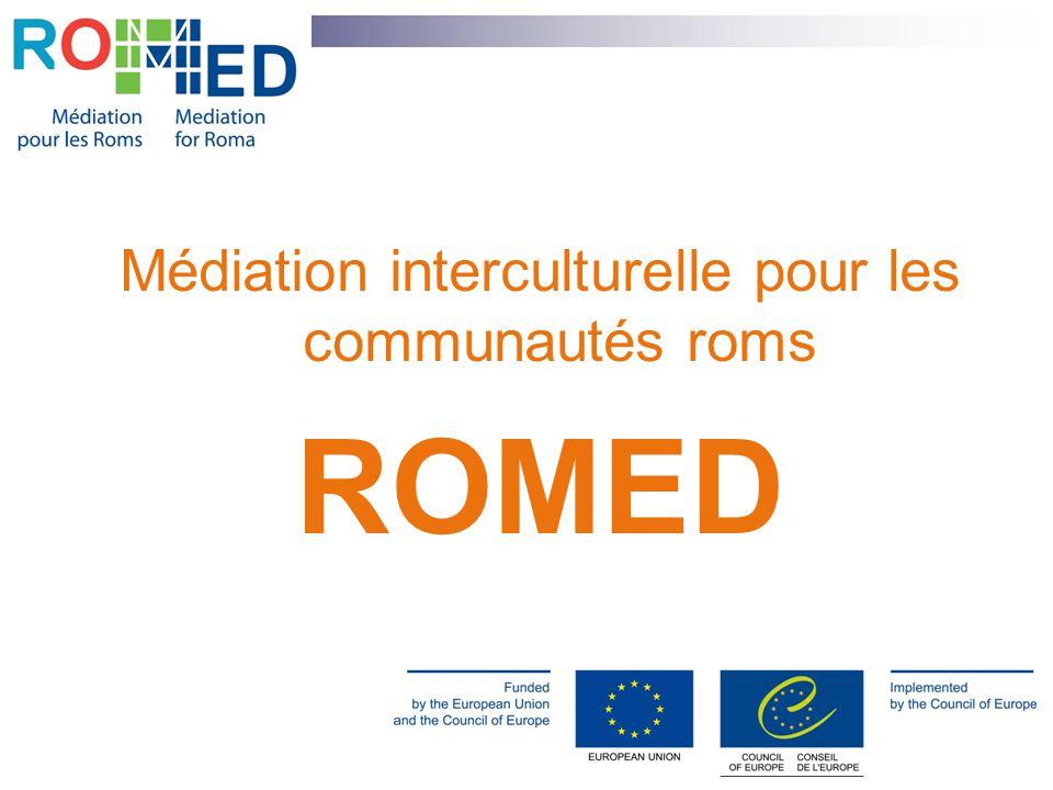 Médiation interculturelle pour les communautés roms ROMED