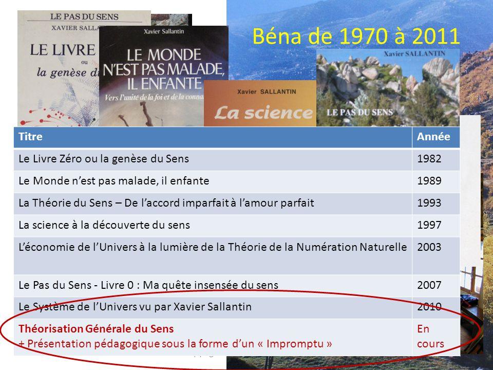 Xavier Sallantin Bibliographie du stratégiste Copyright www.groupebena.org - Version 15/8/2010 4 TitreAnnée Essai sur la défense 1962 L'épreuve de force 1975 Douze dialogues sur la défense 1978