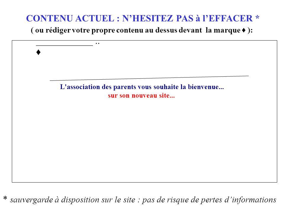 APEC de ___ L association des parents … sur son nouveau site...