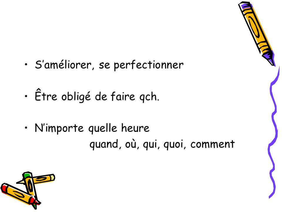 Travailleur,se Assidu,e Studieux,se À la fois = en même temps Nous apprenons le français et l'anglais à la fois.