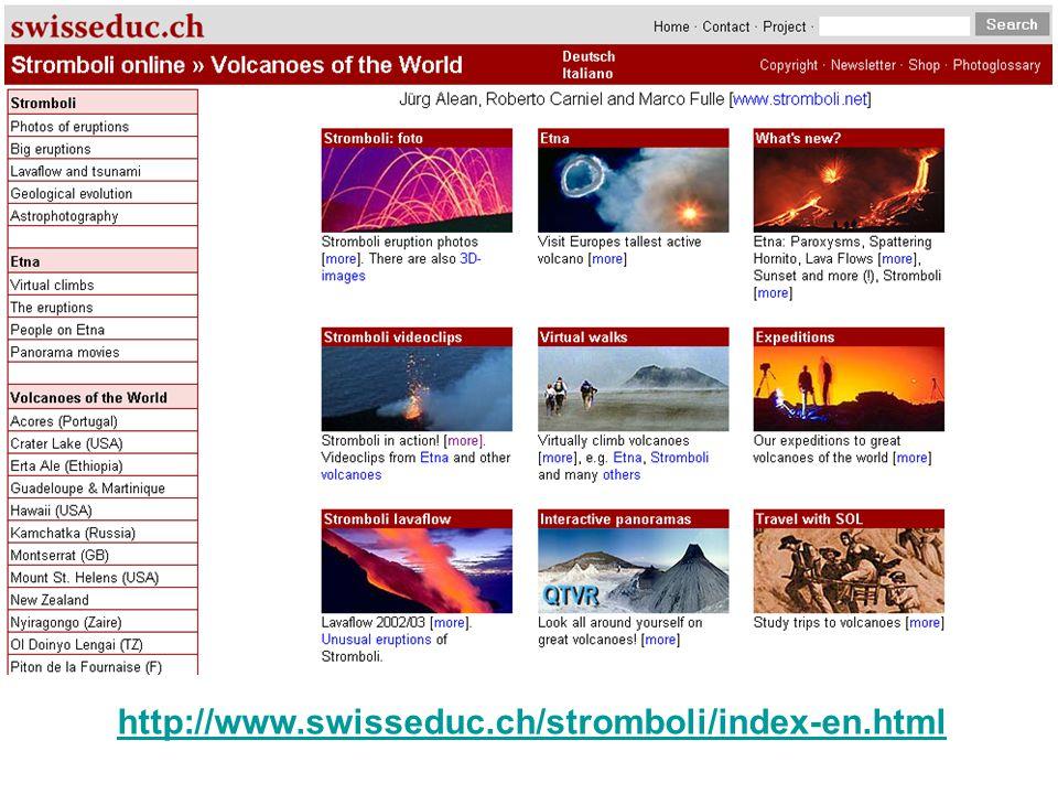 http://www.swisseduc.ch/stromboli/index-en.html