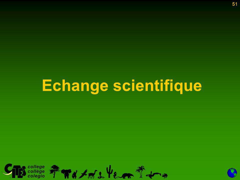 51 Echange scientifique 51