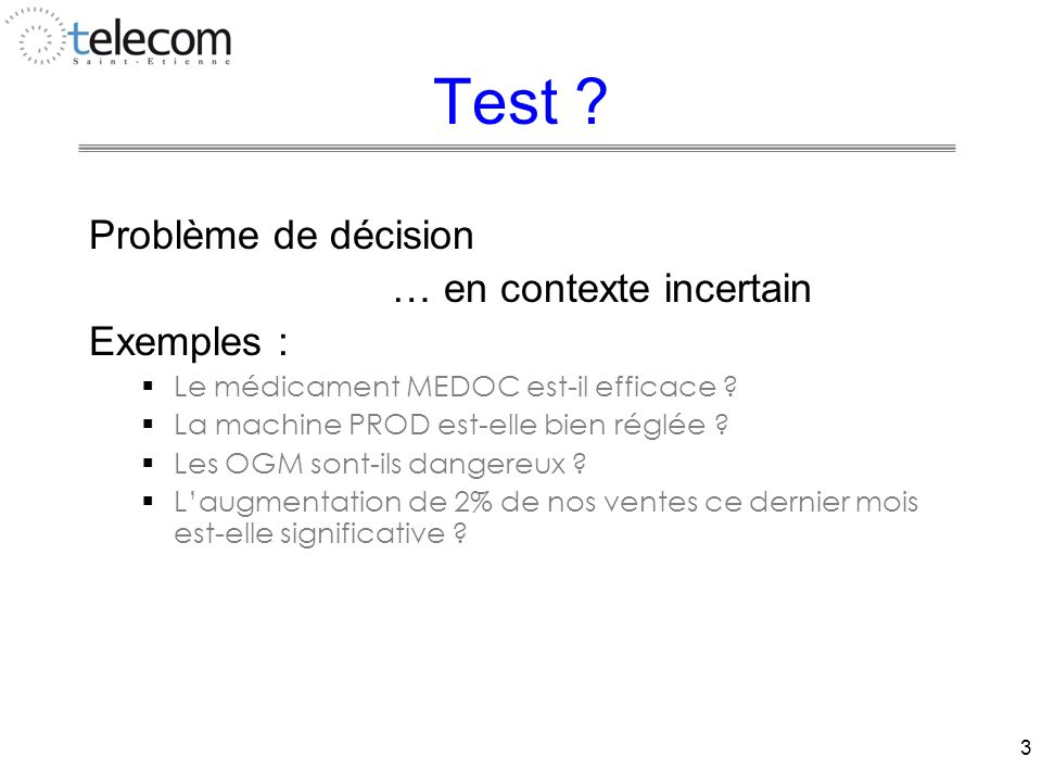3 Test .