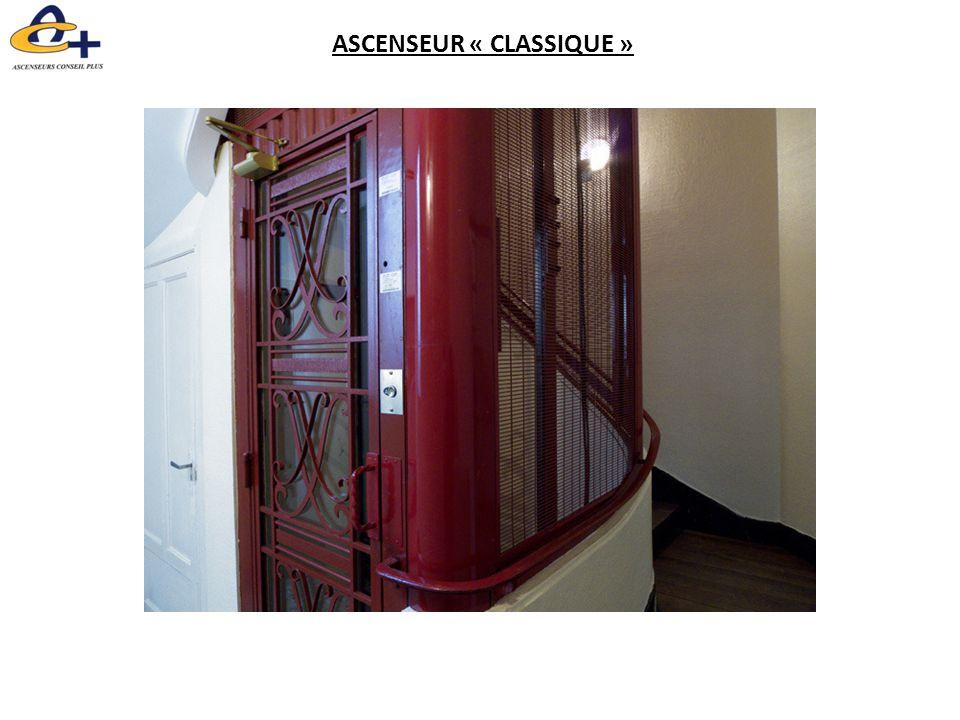 ASCENSEUR « CLASSIQUE »