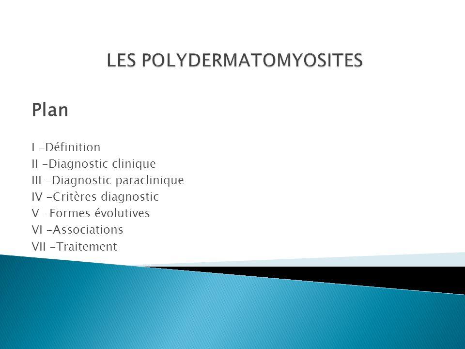  La polydermatomyosite PDM est une affection inflammatoire d origine auto- immune touchant le muscle strié.