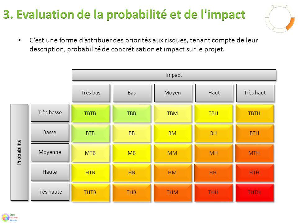 C'est une forme d'attribuer des priorités aux risques, tenant compte de leur description, probabilité de concrétisation et impact sur le projet.