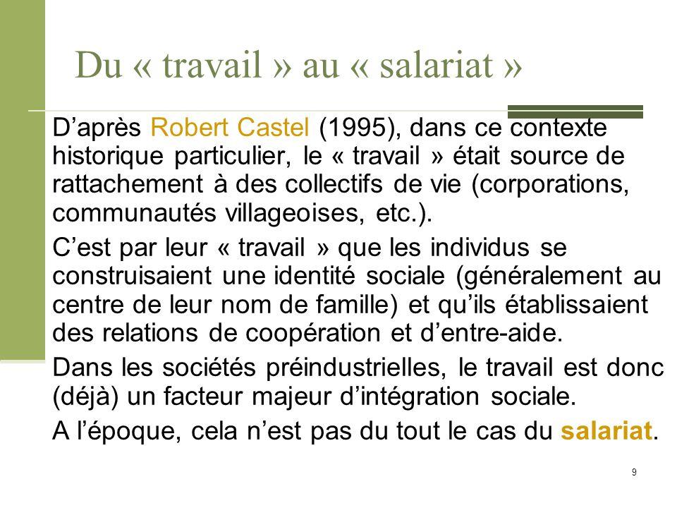 Références bibliographiques Castel, Robert.(1995).