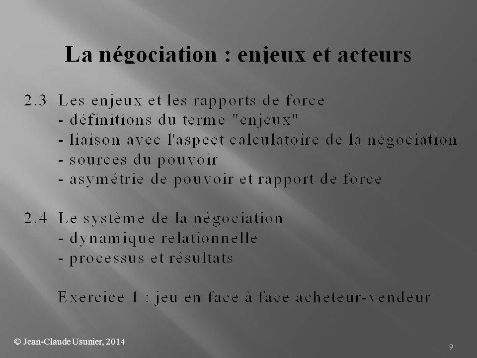 30 6.1 - Quelques questions fondamentales pour caractériser une négociation (Raiffa, 1982) (degré de complexité de la négociation) - Y-a-t-il plus de deux parties .